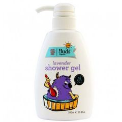 BUDS KIDS LAVENDER SHOWER GEL 350ML