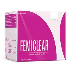 LANG BRAGMAN FEMICLEAR WHOLE CRANBERRY EXTRACT WITH PROBIOTIC SACHET 2.5G X 28S