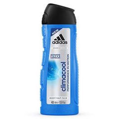 ADIDAS CLIMACOOL 3 IN 1 BODY, HAIR & FACE SHOWER GEL FOR HIM 400ML