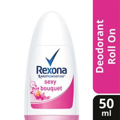 REXONA WOMEN ROLL ON SEXY BOUQUET 50ML