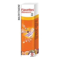 FLAVETTES VITAMIN C 1000MG PASSION FRUIT EFFERVESCENT TABLET 15S