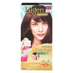 BIGEN ONE PUSH HAIR COLOR 6-5 LIGHT MAHOGANY BROWN 1S