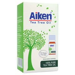 AIKEN 100% PURE TEA TREE OIL 10ML