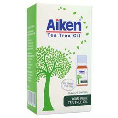 AIKEN 100% PURE TEA TREE OIL 10ML