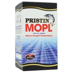 PRISTIN MOPL OMEGA 3 FISH OIL 650MG SOFTGEL 90S + 10S
