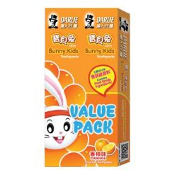 DARLIE BUNNY KIDS ORANGE TOOTHPASTE 40G X 2