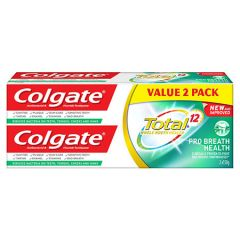 COLGATE TOTAL PRO BREATH HEALTH TOOTHPASTE 150G X 2