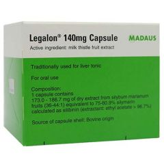 LEGALON 140MG FOR LIVER HEALTH CAPSULE 100S