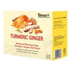 TRESOR EARTHFOOD TURMERIC GINGER TEA 20G 10S