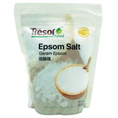 TRESOR EARTHFOOD EPSOM SALT 500G