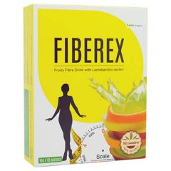 LANG BRAGMAN FIBEREX FRUITY FIBRE DRINK WITH PROBIOTIC SACHET 10G X 10S