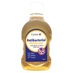CARING ANTIBACTERIAL DISINFECTANT 100ML