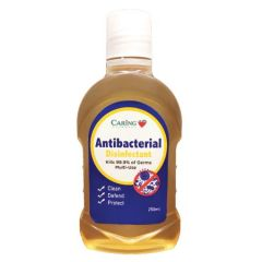 CARING ANTIBACTERIAL DISINFECTANT 250ML