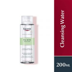 EUCERIN PRO ACNE SOLUTION ACNE & MAKE-UP CLEANSING WATER 200ML