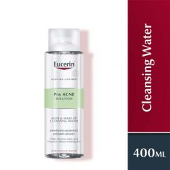 EUCERIN PRO ACNE SOLUTION ACNE & MAKE-UP CLEANSING WATER 400ML
