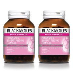 BLACKMORES PREGNANCY & BREAST-FEEDING FORMULA CAPSULE 60S X 2