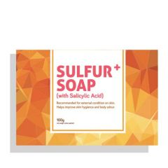 CARING SULFUR+ SOAP 100G