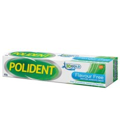 POLIDENT ADHESIVE CREAM FLAVOUR FREE 60G