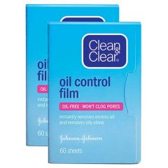 CLEAN & CLEAR OIL CONTROL FILM 60S X 2