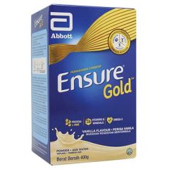 ENSURE GOLD COMPLETE NUTRITION VANILLA 400G