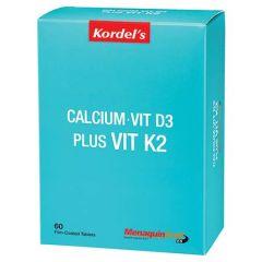 KORDELS CALCIUM + VITAMIN D3 + VITAMIN K2 TABLET 60S