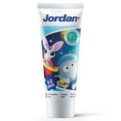 JORDAN BABY MILD STRAWBERRY TOOTHPASTE STEP 1 (0-5 YEARS) 75G
