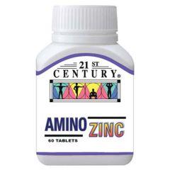 21ST CENTURY AMINO ZINC TABLET 60S