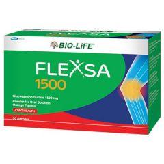 BiO-LiFE FLEXSA 1500MG GLUCOSAMINE SULFATE SACHET 30S
