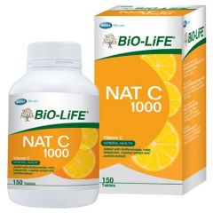 BiO-LiFE NAT C VITAMIN C 1000MG TABLET 150S