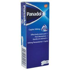 PANADOL CAPLET 500MG OPTIZORB FORMULATION 12S X 3