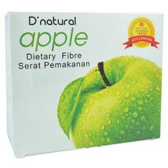 D'NATURAL APPLE DIETARY FIBRE 20G X 15S