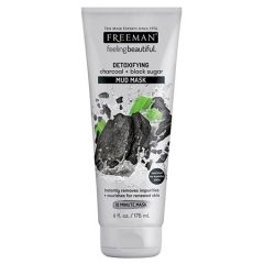 FREEMAN DETOXIFYING CHARCOAL & BLACK SUGAR MUD MASK 175ml