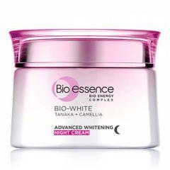BIO-ESSENCE BIO-WHITE ADVANCED WHITENING NIGHT CREAM 50G