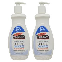 PALMERS COCOA BUTTER FORMULA BODY LOTION 500ML X 2