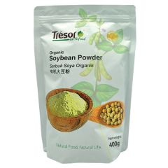 TRESOR EARTHFOOD ORGANIC SOYBEAN POWDER 400G