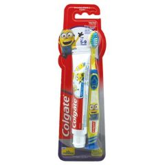 COLGATE MINIONS KIDS TOOTHBRUSH 1S + TOOTHPASTE 40G
