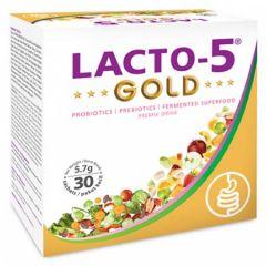 LACTO-5 GOLD PRE & PROBIOTIC SACHET 30S