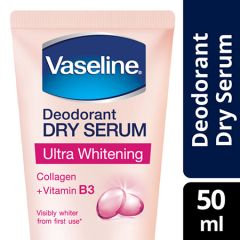 VASELINE DEODORANT DRY SERUM ULTRA WHITENING 50ML