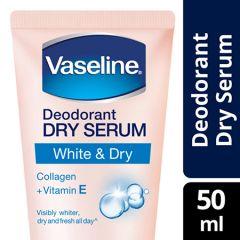 VASELINE DEODORANT DRY SERUM WHITE & DRY 50ML
