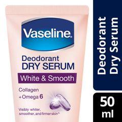 VASELINE DEODORANT DRY SERUM WHITE & SMOOTH 50ML