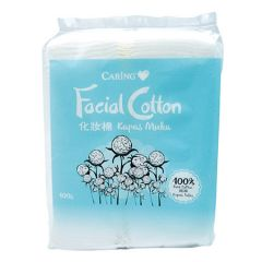 CARING FACIAL COTTON 100S
