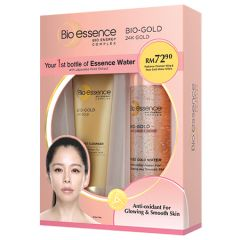 BIO-ESSENCE BIO-GOLD 24K GOLD CLEANSER 100G + ROSE GOLD WATER 100ML