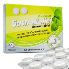 GASTRORELIEF ANTACID TABLET FRESHMINT 12S X 2