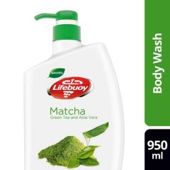 LIFEBUOY MATCHA GREEN TEA & ALOE VERA BODY WASH 950ML