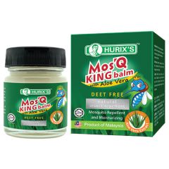 HURIXS MOSQ KING BALM WITH ALOE VERA MOSQUITO REPELLENT 20G