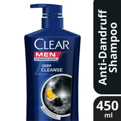 CLEAR MEN DEEP CLEANSE SHAMPOO 450ML