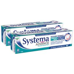 SYSTEMA ADVANCE EXTREME CLEAN BREATH TOOTHPASTE 130G X 2