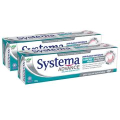 SYSTEMA ADVANCE DEEP CLEAN WHITENING TOOTHPASTE 130G X 2
