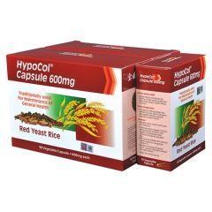 HYPOCOL RED YEAST RICE 600MG CAPSULE 90S X 2 + 30S
