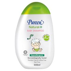 PUREEN NATURAL-H BABY SHAMPOO HYPOALLERGENIC 250ML